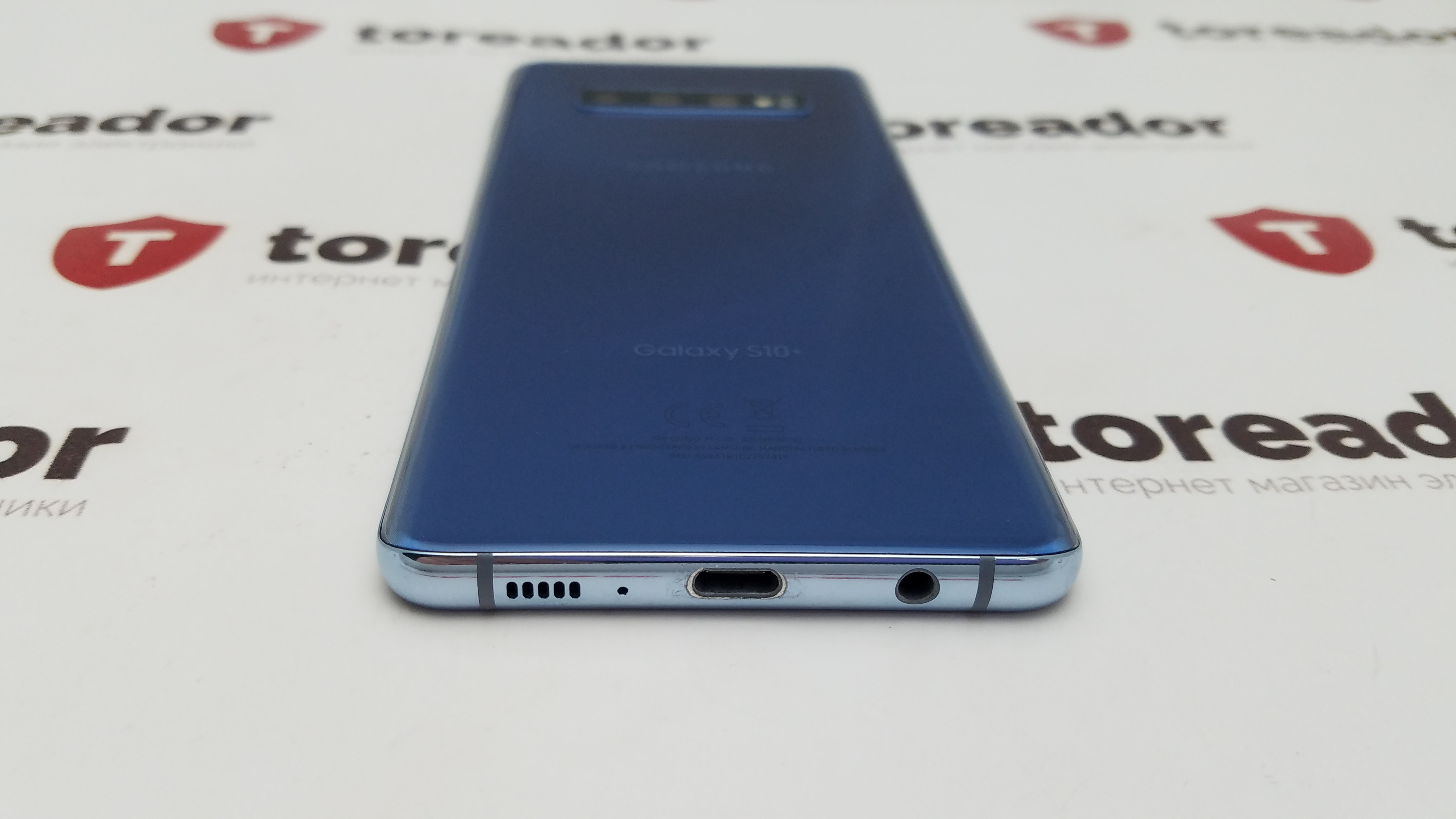 Samsung Galaxy S10 Plus 128gb Prism Blue фото 4