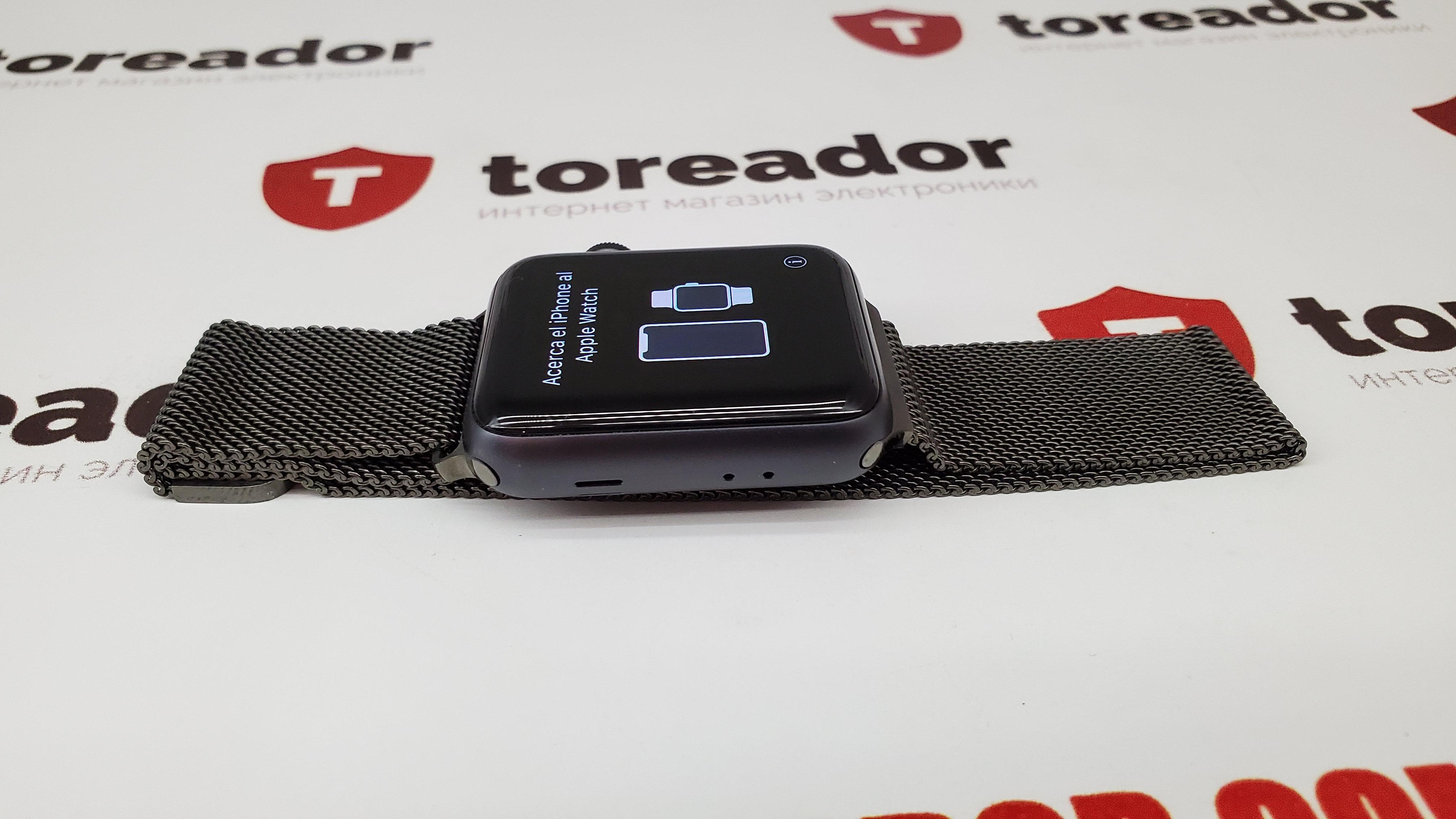 Apple Watch Series 3 GPS 42mm Space Gray Aluminum фото 2
