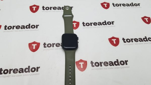 Apple Watch Series 5 GPS 44mm Space Gray Aluminum Green Sport Band (б/у)